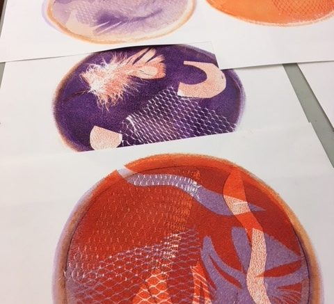 Pop Art Gelli Printing