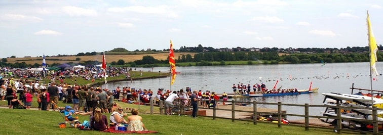Pugneys Watersports Centre and Country Park in Wakefield