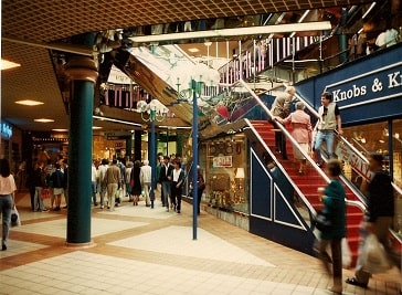 The Ridings Shopping Centre in Wakefield