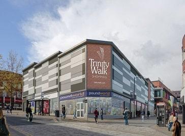 Trinity Walk in Wakefield